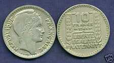 10 FRANCS  TURIN  1946   grosse tete  rameaux courts   ( bis )