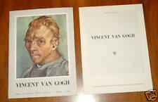 Vincent VAN GOGH 11.5 x 15.5 set of 6 prints