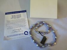 """Honora Freshwater Baroque Pearl 18"""" Sterling Silver Clasp Necklace Lavender NWT"""