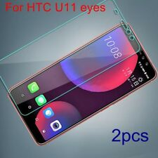 2PC For HTC U11 eyes Anti-Scratch HD Tempered Glass Film Screen Protector Cover