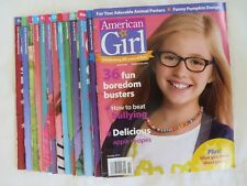 American Girl Magazine Lot of 13 Back Issues 2013 2014 2015  # 8494