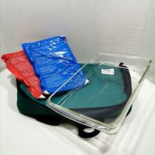 New listing Pyrex Portables 3 Qt Oven Dish 233 Carry Case, Hot and Cold Packs Microcore