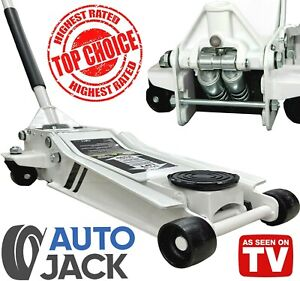 Low Profile Trolley Jack with 2.5 Ton Professional Rocket Lift for Car & Garage
