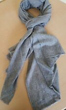 NEW 100% CASHMERE FAIR TRADE PASHMINA SCARF SHAWL WRAP MADE IN NEPAL 200X70 CM 5