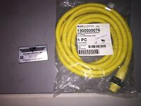 Woodhead 1300000076 Cordset cable 4 pin Female 12 Foot 32639 Quick-Change