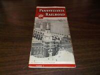 OCTOBER 1956 PRR PENNSYLVANIA RAILROAD FORM 1 SYSTEM PUBLIC TIMETABLE