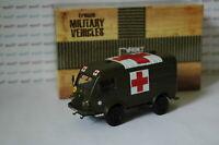 Militaires Français Camion Renault 1000 Kgs R2087 Croix Rouge 1/43èm DIREKT IXO