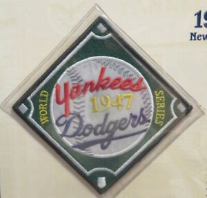 Willabee & Ward NEW YORK YANKEES DODGERS 1947 WORLD SERIES PATCH