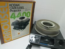 Kodak Carousel 4400 35mm Slide Projector - Remote with Power Focus.
