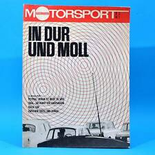 DDR Illustrierter Motorsport IMS 2 1973 Dacia 1300 Trial Fiat 132 Formel 1 V