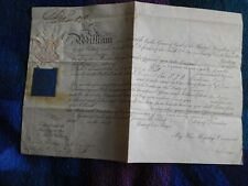More details for king william iv excellent signed document from 1830