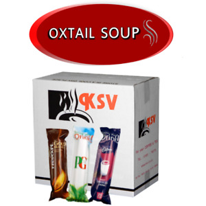 Oxtail Soup for 73mm In-Cup Vending Machines Drinks x300