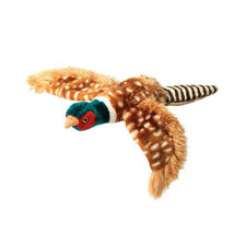House of Paws Plush Pheasant Dog Toy Large | Squeaky Realistic Wild Bird Soft