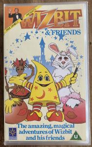Paul Daniels Presents WIZBIT & Friends - VHS Tape - RARE - VGC - Free UK PP