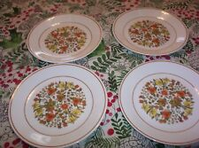 CORELLE INDIAN  SUMMER  PATTERN 8-1/2 INCH LUNCHEON PLATES
