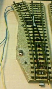 Märklin H0 5202 Electric Points Left Tested