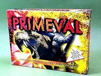 PRIMEVAL Family Fun Board Game  Ferocious Predator Dinosaurs Light & Sound