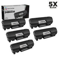 LD Compatible Lexmark 24B6035 Black Toner 5-Pack for use in M1145 & XM1145