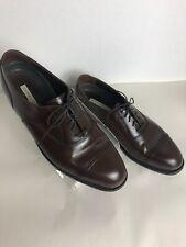 Mens Florsheim Leather Dress Shoes Cap Toe