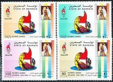 Bahrein 1996 Atlanta Olympics Sc#473-76 Nuovo senza Linguella(D01)