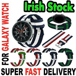 3 COLOUR Samsung Galaxy WATCH STRAP Band For 46mm Huawei GT Watch 2 IRISH STOCK