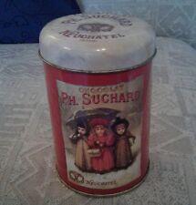 ph suchard chocolate storage tin