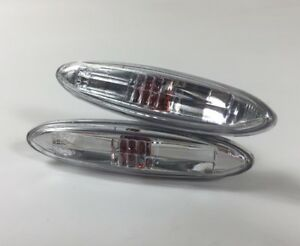 Pair Side Fender Clear Lamp Light for Lexus IS250 IS300 IS350 SC430 GS450H