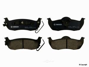 Disc Brake Pad Set-Bosch QuietCast Rear WD Express 520 10410 462