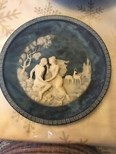 Isle of Circe 1984 1st Ed #8338H Cameo Collectors Plate Lapis Blue Incolay Stone