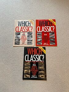 POPULAR CLASSICS MAGAZINE WHICH CLASSIC PART 1 & 2 & 3 SOLD TOGETHER RARE