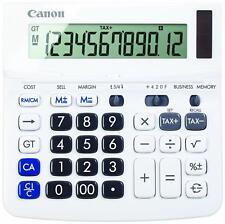 Canon WS-220TSG 12-Digit  Desktop Calculator, Tax Calculation (TAX +, TAX -)