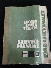 1980 Chevrolet Light Duty Truck Service Manual