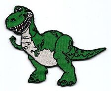 REX Tyrannosaurus green dinosaur in toy story Embroidered Iron On/Sew On Patch