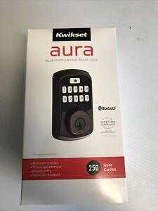 Kwikset Aura Bluetooth Keypad Smart Lock 99420-002 Venetian Bronze BRAND NEW