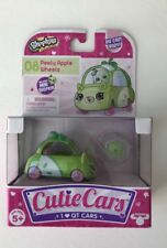 Shopkins Cutie Cars PEELY APPLE WHEELS #08 Series 1 Includes Mini character New
