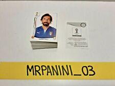 WC BRASIL 2014 - Panini - lotto-stock 160 Figurine-stickers DIVERSE (B6)