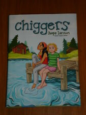 CHIGGERS HOPE LARSEN ATHENEUM HARDBACK GRAPHIC NOVEL 9781416935841