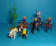 Playmobil Western ~ U.S. Kavallerie / Cavalry & Trapper (3485)
