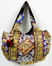 Banjara Hippie Jhola Boho Gujarati Patchwork Tote Women Indian Shoulder Bag #286