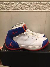 Nike Air Jordan Melo 1.5 White Blue Orange Carmelo Anthony Size 12