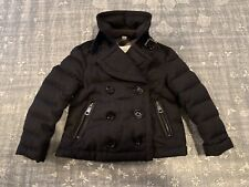 Burberry Boys Girls Toddler Motorcycle Wool Double Breasted Puffer Jacket 3Y