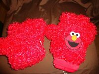 "Sesame Street Elmo Talking Glove Tickle Me 10"" Plush Soft Toy Stuffed Animal"