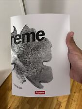 Supreme Magazine 2021 released same day as Milan Box Logo In store only.