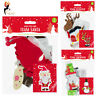 3 Christmas Make Your Own Foam Character Ornament Kids Craft Kit Xmas Decoration