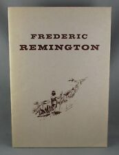 FREDERIC REMINGTON 1861-1909 Collection of Drawings & Gouches (1971) H McCracken