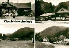 73675758 Obstfelderschmiede Bahnhof Teilansicht mit Blick zum Steinberg Obstfeld