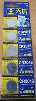 5pcs TQ CR2016 3V Button Cell Lithium Batteries Melbourne