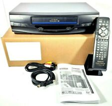 Panasonic PV-V4030S 4-Head VCR - Video Cassette Recorder with Remote
