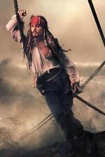 Johnny Depp # 16 - 8 x 10 T-shirt iron-on transfer Jack Sparrow