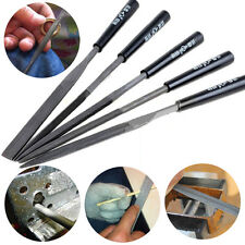 5PCS Needle File Set Jeweler Diamond Wood Carving Model Metal Glass Stone Craft